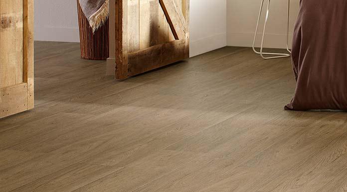 harde houten vloer