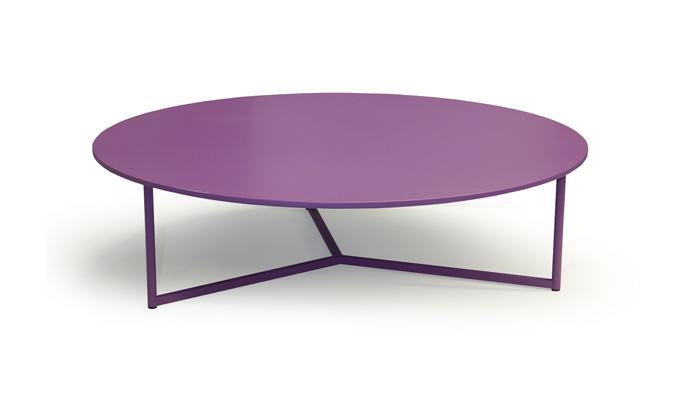 Paarse salontafel van Pode