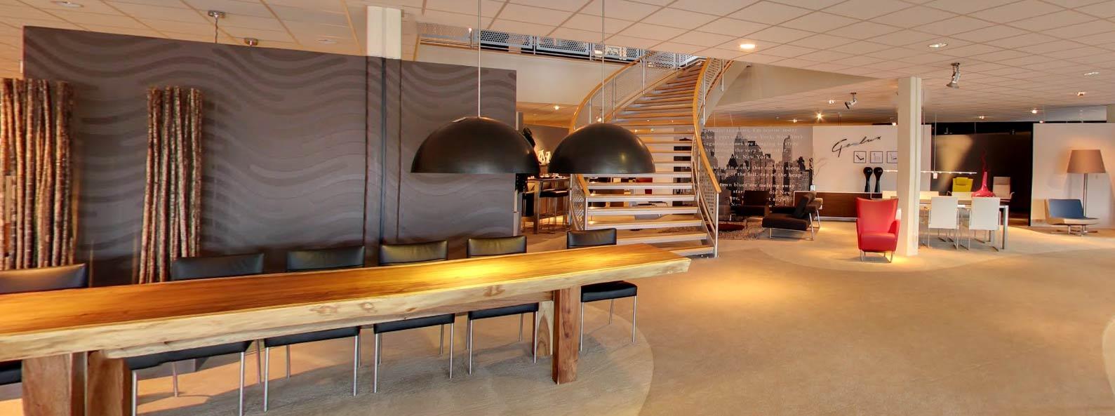 Showroom van Veldkamp Wonen Zwolle