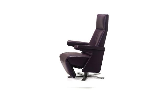 Zwarte fauteuil van Gealux