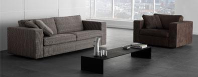 Bank, stoel en tafel van woonmerk Moduss 2