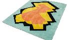 Karpet-met-kleurenprint